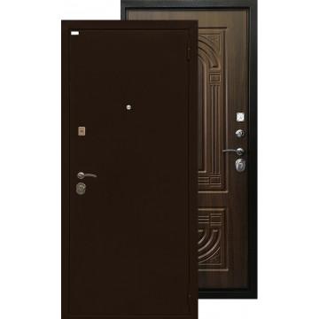 Стальная дверь Ратибор Оптима 3К (Орех бренди)