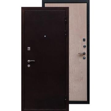 Стальная дверь Ратибор Практик (Дуб беленый)