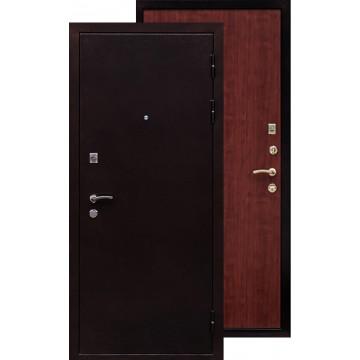Стальная дверь Ратибор Практик (Антик медь / Итальянский орех)