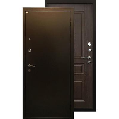 Стальная дверь Ратибор Статус (Венге капучино)