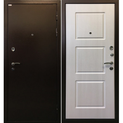 Стальная дверь Ратибор Трио (Лиственница беж)