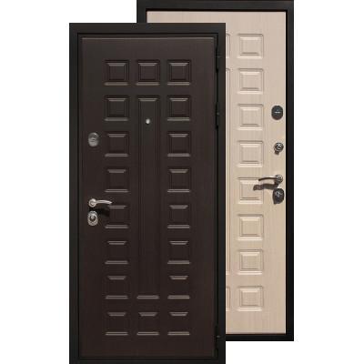 Стальная дверь Ратибор Триумф 3К (Беленый дуб)