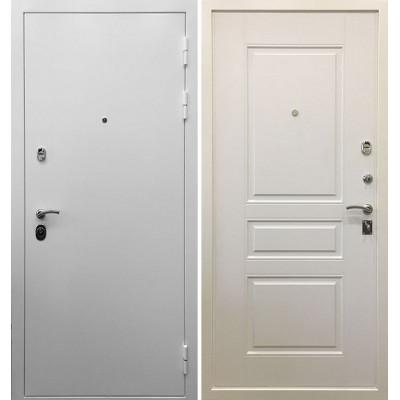 Стальная дверь Ратибор Бланко 3К (Белая матовая)