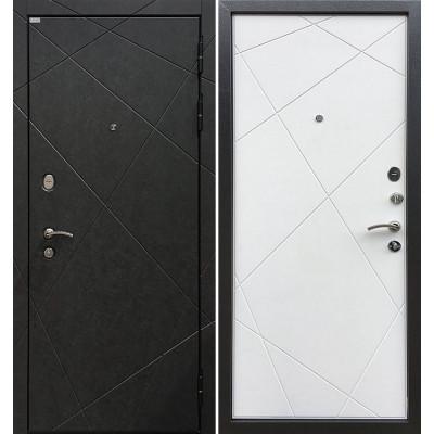 Стальная дверь Ратибор Эстет 3К (Силк сноу)