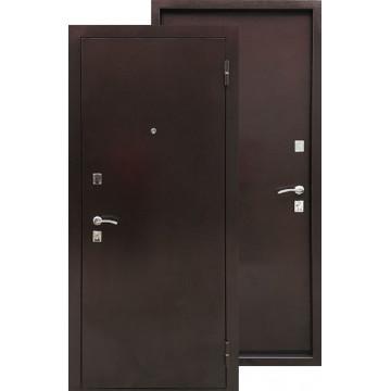 Стальная дверь Ратибор Дачная (Антик медь / Антик медь)
