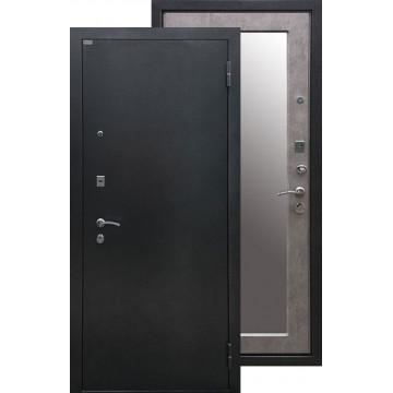 Стальная дверь Ратибор Классик 3К с зеркалом (Бетон светлый)
