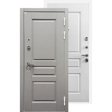 Стальная дверь Ратибор Лондон 3К (Белый софт)