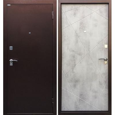 Стальная дверь Ратибор Рубеж (Бетон светлый)