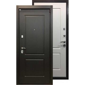 Стальная дверь Ратибор Барьер (Венге / Ясень белый)