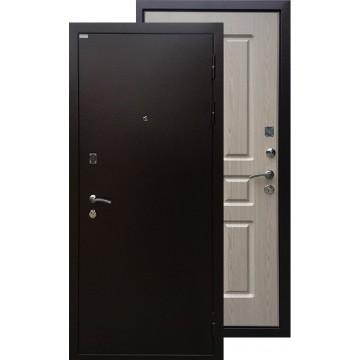 Стальная дверь Ратибор Комфорт (Дуб беленый)