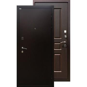 Стальная дверь Ратибор Комфорт (Орех премиум)