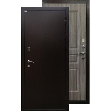 Стальная дверь Ратибор Комфорт (Палисандр светлый)