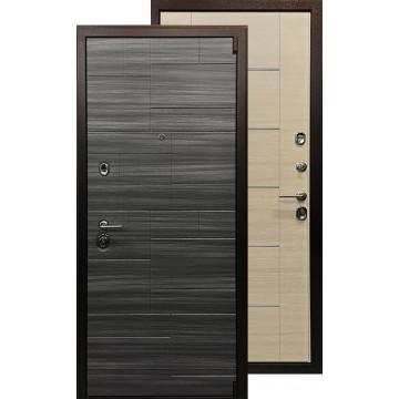 Стальная дверь Ратибор Омега (Сандал серый / Акация)