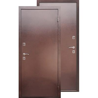 Стальная дверь Ратибор Зима (Антик капучино)