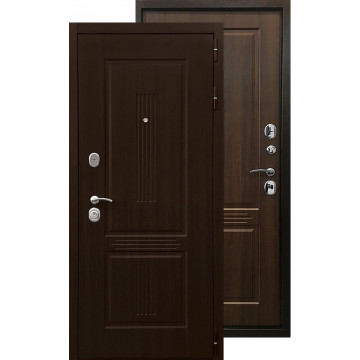 Стальная дверь Ратибор Консул 3К (Орех бренди)