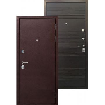Стальная дверь Ратибор Вектор (Венге поперечный)