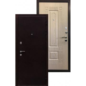 Стальная дверь Ратибор Стандарт (Выбеленный дуб)