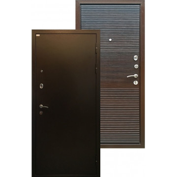 Стальная дверь Ратибор Горизонт (Эко Венге)