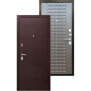 Стальная дверь Ратибор Квадро 3К (Венге тангент)